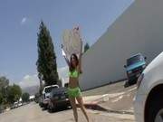 Kiki Vidis Fucks During Charity Carwash